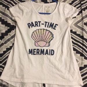Hey why part time mermaid T-shirt